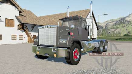 Mack Super-Liner Day Cab more options for Farming Simulator 2017