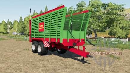 Hawe SLW 45 silage trailer for Farming Simulator 2017