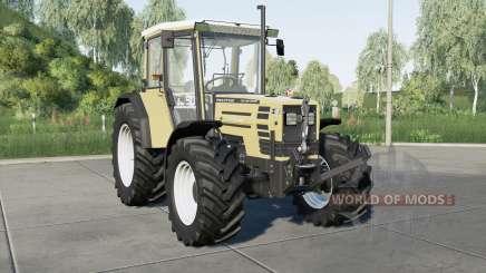 Hurlimann H-488 wheels selection for Farming Simulator 2017