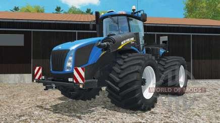 New Holland T9.565 change wheels for Farming Simulator 2015