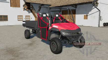 Mahindra Retriever long fixed collisions for Farming Simulator 2017