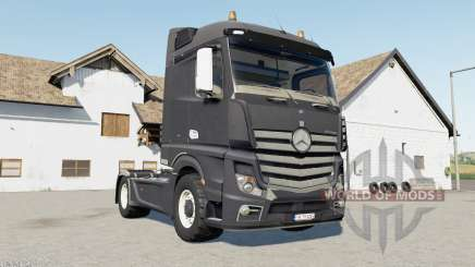 Mercedes-Benz Actros (MP4) davys grey for Farming Simulator 2017