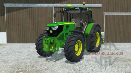 John Deere 6115M manual ignition for Farming Simulator 2013