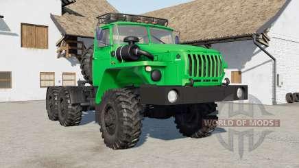 Ural-4420 green for Farming Simulator 2017