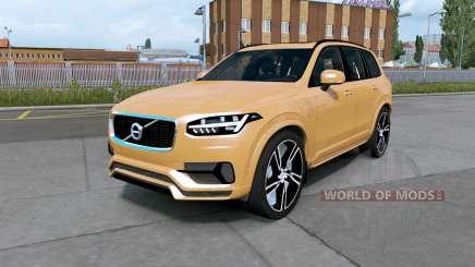 Volvo XC90 T8 2016 indian yellow for Euro Truck Simulator 2
