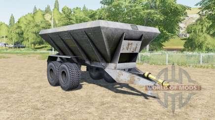 HLM-8B slate blue for Farming Simulator 2017