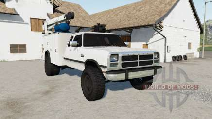Dodge Power Ram 250 Service for Farming Simulator 2017