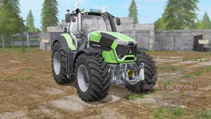 Deutz-Fahr 9-series LED beacons for Farming Simulator 2017