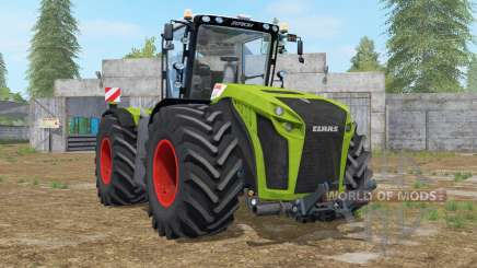 Claas Xerion 5000 Trac VC wipers animation for Farming Simulator 2017