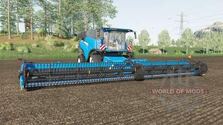 New Holland CR10.90 spanish sky blue for Farming Simulator 2017