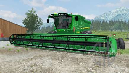 John Deere S690i manual ignition for Farming Simulator 2013
