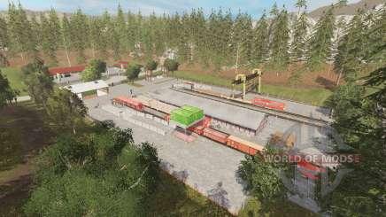 Rockwood and Riverwood v1.1 for Farming Simulator 2015
