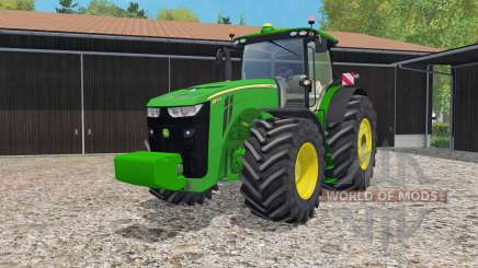 John Deere 8370R IC controᶅ for Farming Simulator 2015