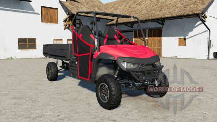 Mahindra Retriever long with fix for Farming Simulator 2017