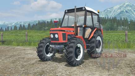 Zetor 7745 the moveable axis for Farming Simulator 2013