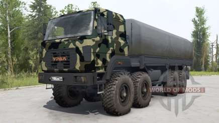 Ural-M 532362-70 camouflage paint for MudRunner