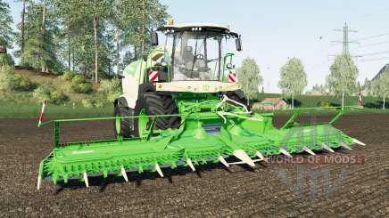 Krone BiG X 1180 wheel color changed for Farming Simulator 2017