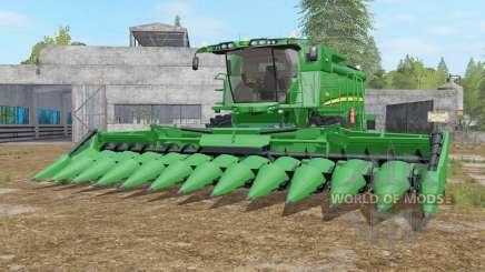 John Deere S690i real textures for Farming Simulator 2017