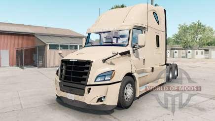 Freightliner Cascadia almond for American Truck Simulator