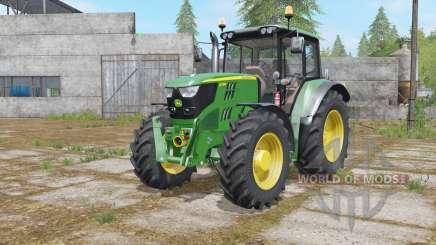 John Deere 6115M interactive contrꝍl for Farming Simulator 2017