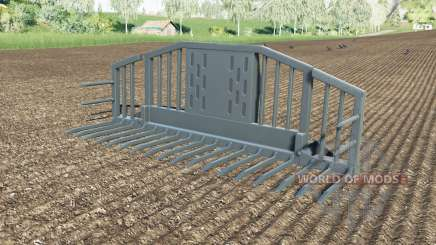 Silage forks with a large amount of for Farming Simulator 2017