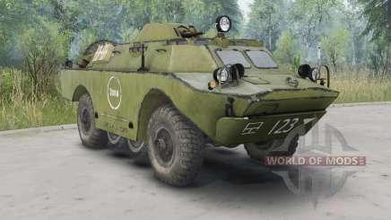 BRDM-2 v2.0 for Spin Tires