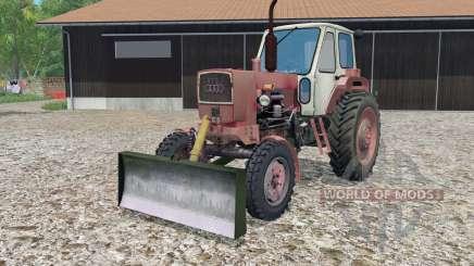 YUMZ-6 with a blade for Farming Simulator 2015