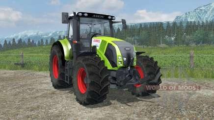 Claas Axion 820 suspension axis wheel steering for Farming Simulator 2013