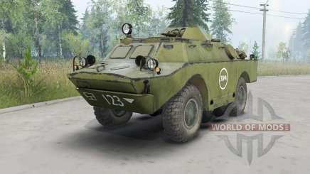 BRDM-2 dark ninasimone green for Spin Tires