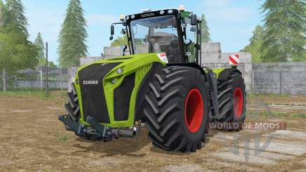 Claas Xerion 5000 Trac VC dual wheels for Farming Simulator 2017