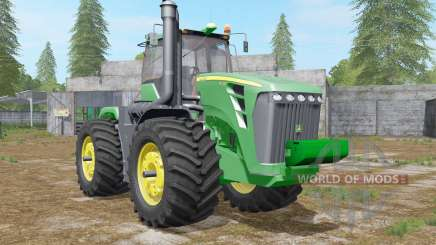 John Deere 9630 wheel configurations for Farming Simulator 2017