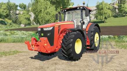 John Deere 8R-series multicolor for Farming Simulator 2017