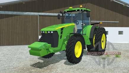 John Deere 8345R double wheels for Farming Simulator 2013