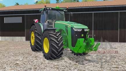 John Deere 8370R animated joystick for Farming Simulator 2015