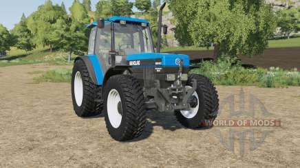 New Holland 8340 wheels selection for Farming Simulator 2017