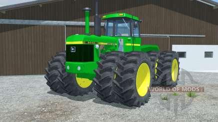 John Deere 8440 manual ignition for Farming Simulator 2013