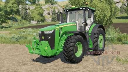 John Deere 8R-series real sound for Farming Simulator 2017