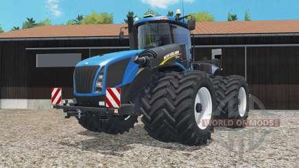 New Holland T9.565 dual float wheels for Farming Simulator 2015