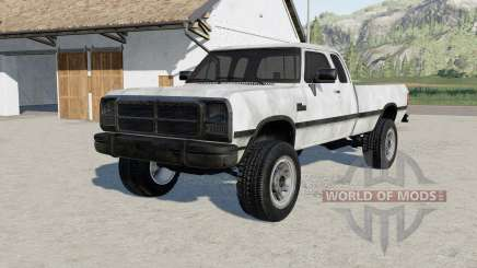 Dodge Power Ram 250 Club Cab 1993 for Farming Simulator 2017