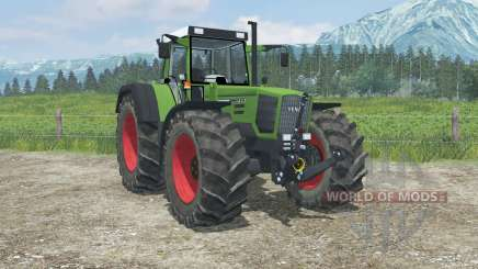 Fendt Favorit 824 Turboshift real exhaust smoke for Farming Simulator 2013