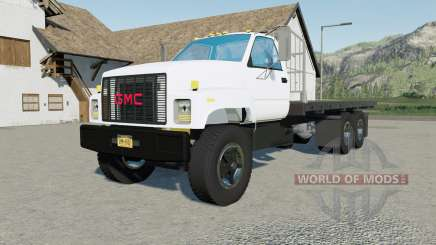GMC TopKick C7500 Flatbed for Farming Simulator 2017