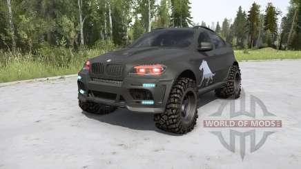 BMW X6 M (E71) BORZ v2.0 for MudRunner