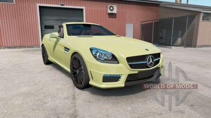 Mercedes-Benz SLK 55 AMG (R172) 2012 for American Truck Simulator