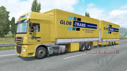 Painted BDF Traffic Pack v6.6 for Euro Truck Simulator 2