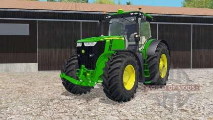 John Deere 7290R & 8370R IC control for Farming Simulator 2015