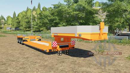Goldhofer STZ-VP 3 added new colors choices for Farming Simulator 2017