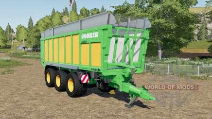 Joskin Drakkar 8600 hooked for Farming Simulator 2017