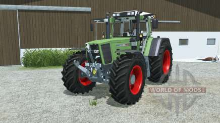 Fendt Favorit 926 Vario animierte auspuffklappe for Farming Simulator 2013