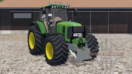 John Deere 7530 Premium wheels selection for Farming Simulator 2015