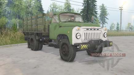 GAZ-53A-NIIAT-05 for Spin Tires